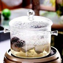Marmites et soupières,Bol en verre avec couvercle