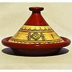 Marocaine Tajine Pot en Terre Cuite Pot Braiser,