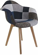 marque The Home Deco Factory Fauteuil Patchwork