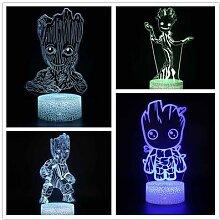 Marvel – lampe 3D représentant les