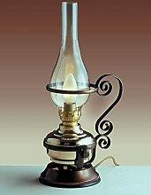 Marzo Lampe de table électrique en laiton et