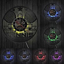 MASERTT Horloge Murale de Tennis de Table Design