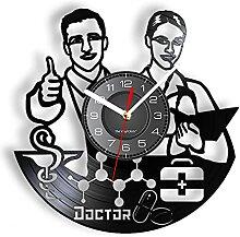 MASERTT Horloge Murale rétro d'encouragement