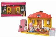 Masha ambulance+maison