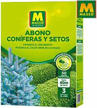 Masso - Engrais conifere et haie 2kg. 244024 massó