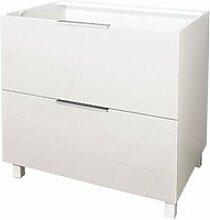 Mastercook caisson meuble bas de cuisine 2 tiroirs