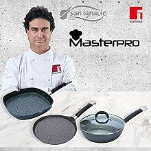 MasterPro Home Edition Black Set de poêles