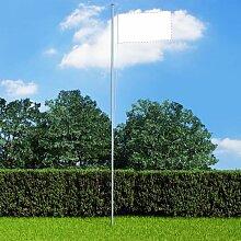 Mat de drapeau sectionnel Aluminium 6,2 m