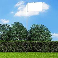 Mat de drapeau telescopique Aluminium 6 m