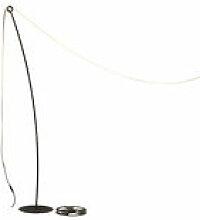 Mât / Pour guirlande lumineuse Feston - H 190 cm