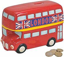 Matches21 Tirelire Bus Bus Double Deckerbus London