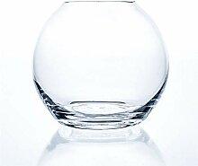 Matches21 Vase boule en verre décoratif pour pot