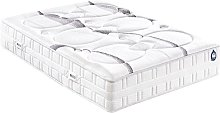 Matelas CLEARNESS King Size 200x200 Mousse - Blanc