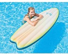 Matelas de piscine surf blanc - intex