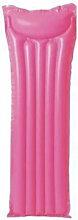Matelas de plage gonflable rose - 183x69 cm