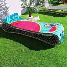 Matelas de plage Watermelon 60x180 cm