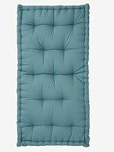 Matelas de sol style futon bleu