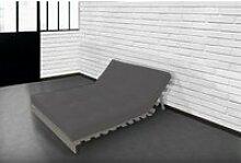 Matelas futon latex gris clair 140x190 GRIS CLAIR