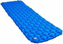 Matelas gonflable 58x190 cm Bleu HDV47625 - Hommoo