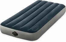 Matelas gonflable Airbed 1 place Fiber Tech - Bleu