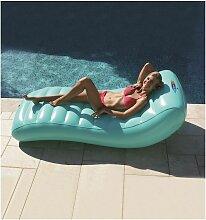 Matelas gonflable design pour piscine Lounger