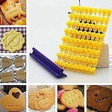 Matériel de pâtisserie - Moule à gaufrer pour