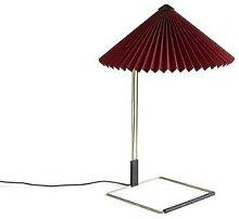 MATIN SMALL-Lampe à poser LED Coton/Métal H38cm