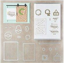 Matrices de découpe en métal et timbres, moule