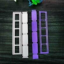 Matrices de découpe en métal pour film