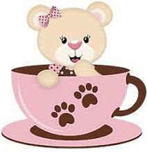 Matrices de Scrapbooking, ours Animal, café,