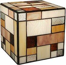 Matrix Abat Jour en verre coloré cm H15xL15xS15