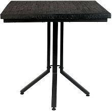 Maze - Table de bistrot carrée 75x75cm