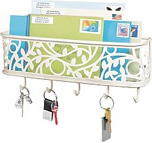 mDesign boîte à clés en métal avec Surface de