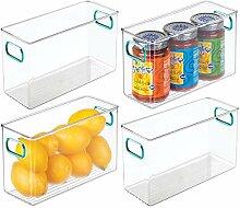 mDesign boite frigo avec poignées – boite