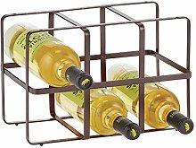 mDesign casier range-bouteilles pratique –