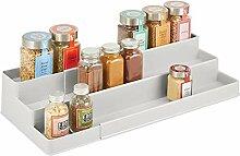 mDesign étagère à épices Design pour