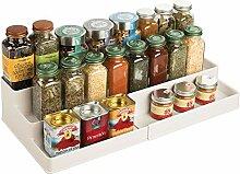mDesign étagère à épices Design pour la