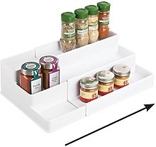 mDesign étagère à épices extensible à 3