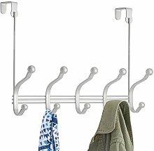 mDesign Garde-Robe en métal – 10 Crochets Porte