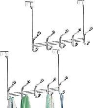 mDesign garde-robe en métal (lot de 2) – 10