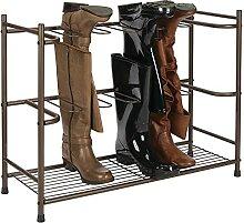 mDesign meuble à chaussures en métal –