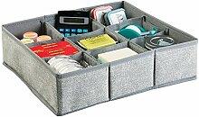 mDesign organiseur de tiroirs – grand bac de