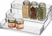 mDesign présentoir à épices à 3 Niveaux -
