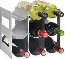 mDesign range bouteille pour vin – joli casier