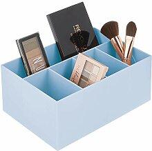 mDesign Rangement cosmétiques pour lavabo ou