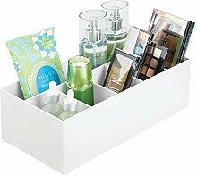 mDesign rangement cosmétiques pour lavabos ou