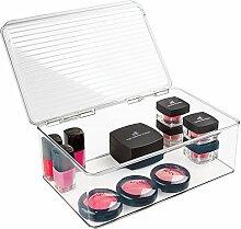 mDesign Rangement Maquillage – boîte à
