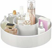 mDesign rangement maquillage rotatif – plateau