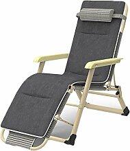 MDZZ Jardin Zero Gravity Chaise, Extérieur Pliant