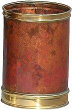 Medial - Corbeille à papier cylindrique | cuivre